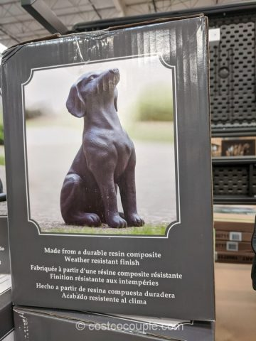 Southern Patio Dog or Cat Resin Statues Costco