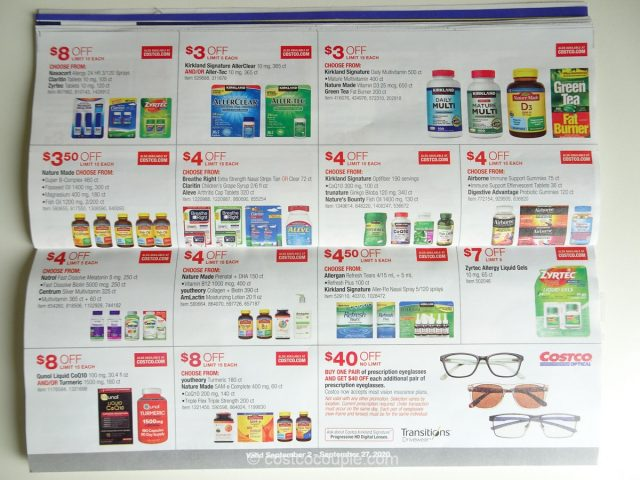 Costco September 2020 Coupon Book 09/02/20 to 09/27/20