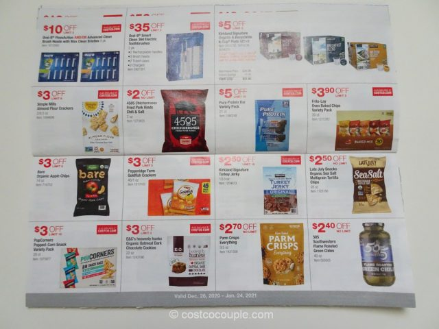 Costco January 2021 Coupon Book 12/26/20 to 01/24/21