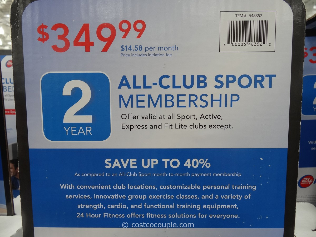 24 Hour Fitness S Gym Membership Fees