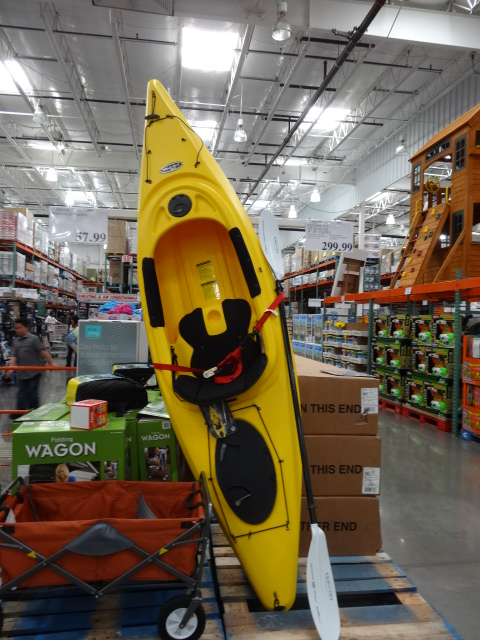 Kayak at Costco