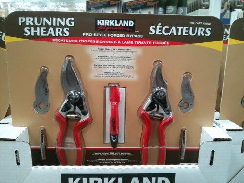 Kirkland Pruning Shears at Costco