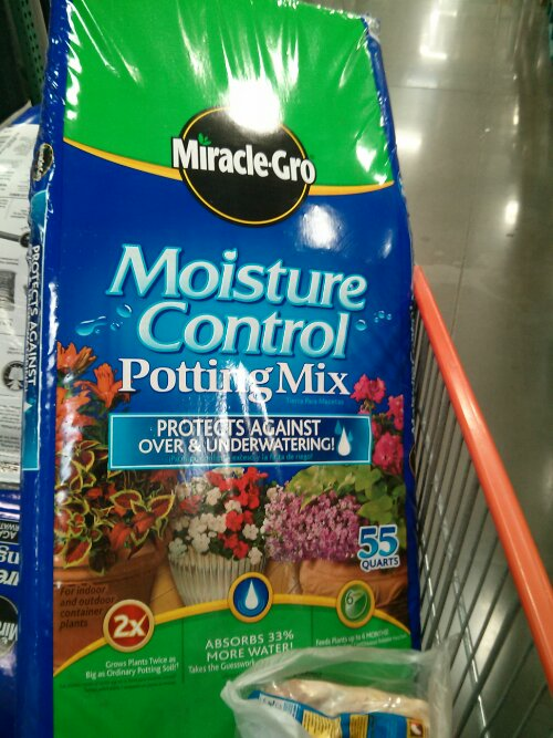 Miracle Gro Potting Mix At Costco