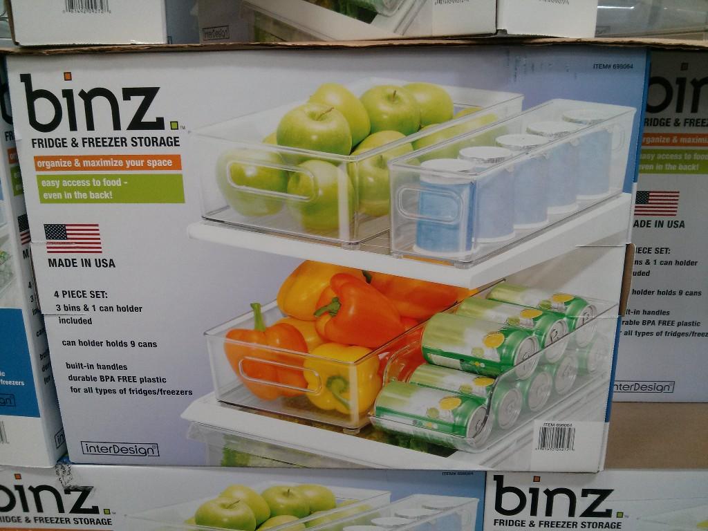 Binz Fridge and Freezer Storage Costco