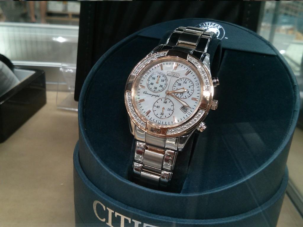 Citizen Ladies Chronograph Watch Costco
