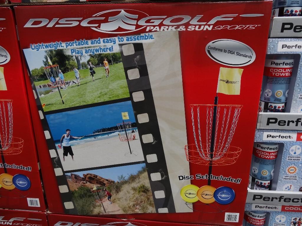Park and Sun Disc Golf Set Costco