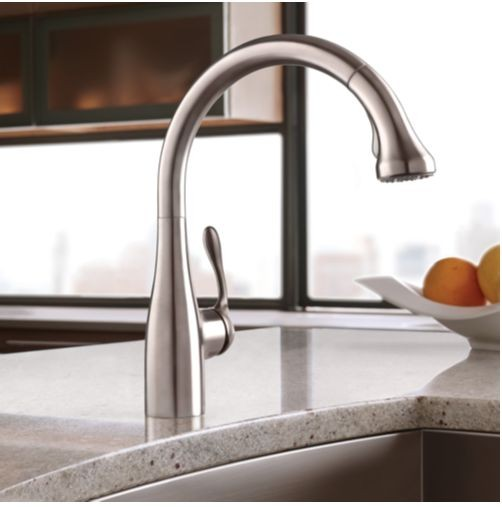 Hansgrohe Allegro E Gourmet High Arc Kitchen Faucet