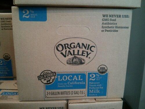 Organic Valley 2% Reduced Fat Milk Costco
