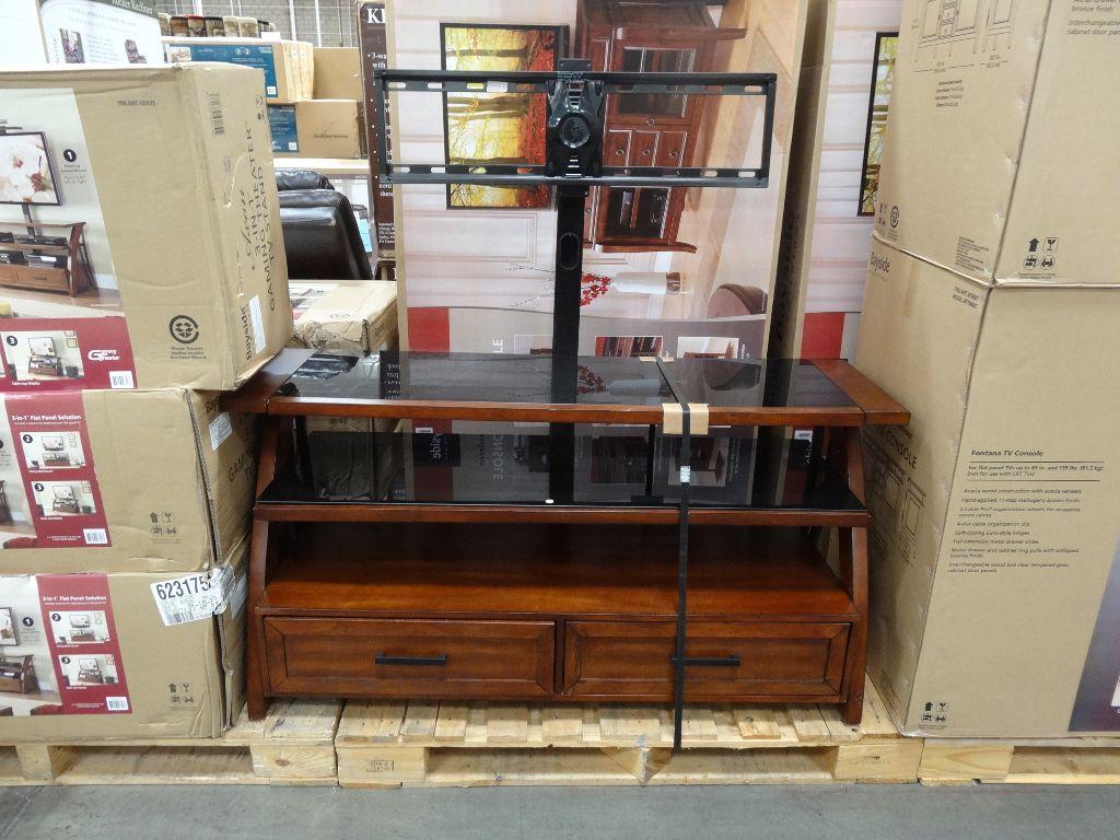 Bayside Furnishings Axon 3-In-1 TV Stand Costco