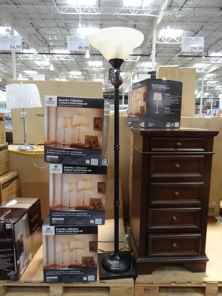 Bridgeport Designs Torchiere Floor Lamp Costco