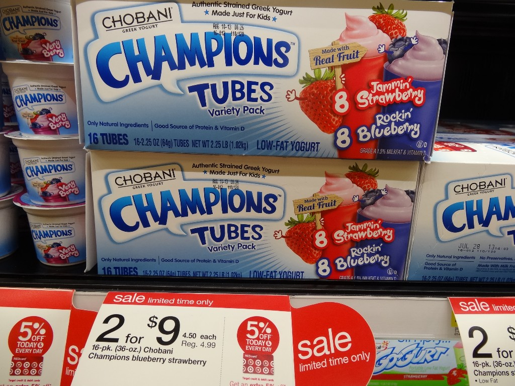 Chobani Tubes Target
