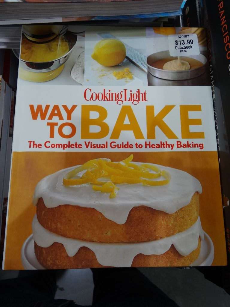 Cooking Light book Costco