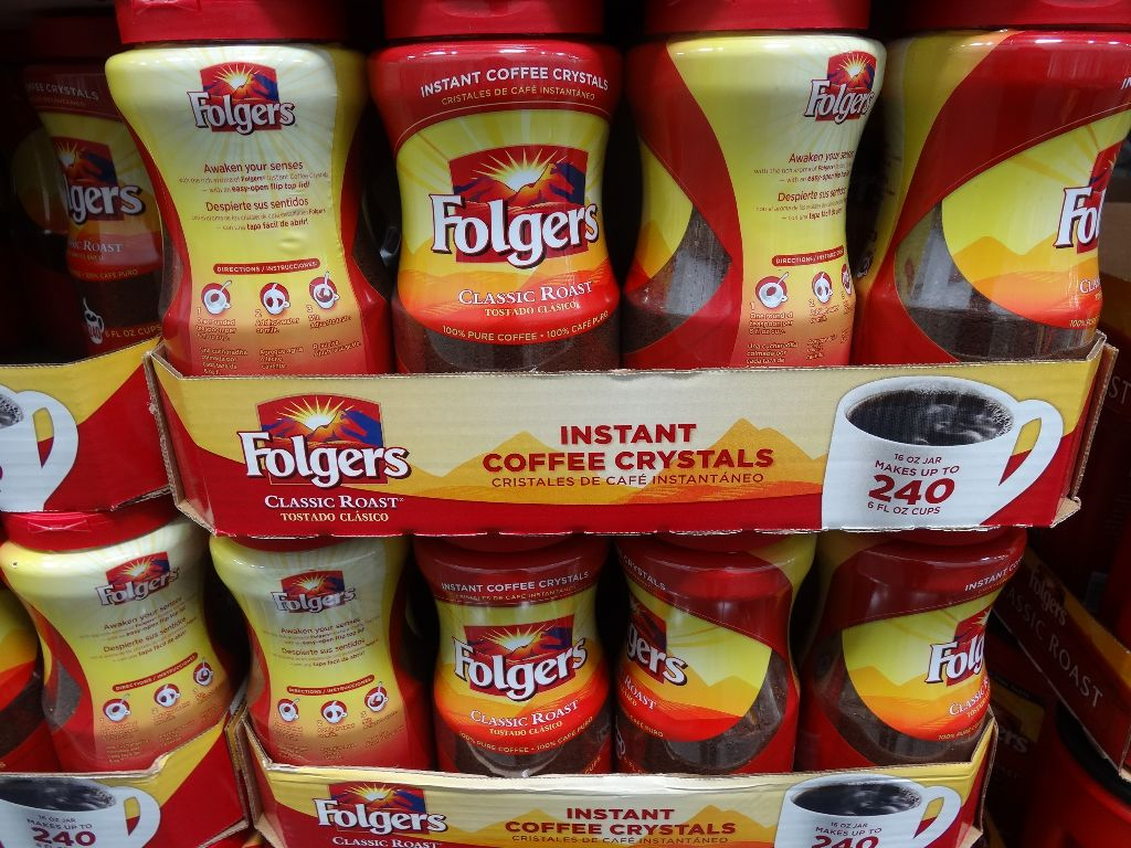 Folgers Instant Coffee Costco