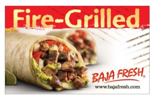 Gift Card Baja Fresh Costco