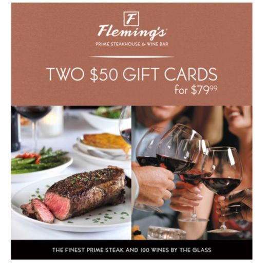 Gift Card Fleming's Steakhouse Costco