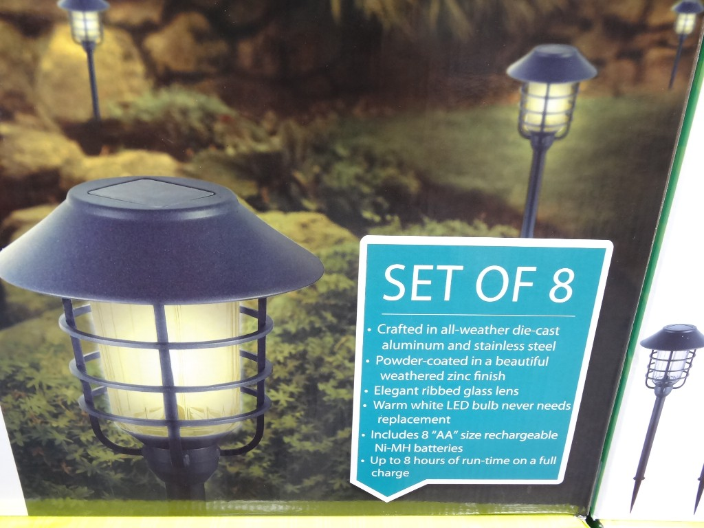 HGTV Solar Pathway Lights – Discount ends 09/01/13