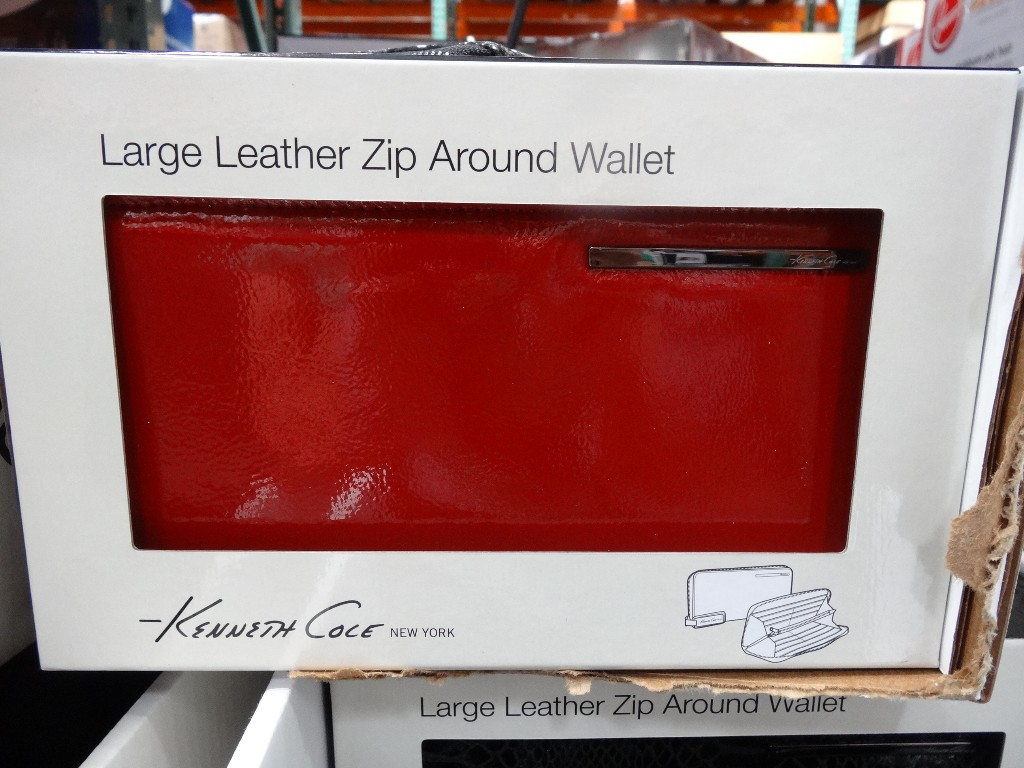 Kenneth Cole Large Zip Around Wallet Costco