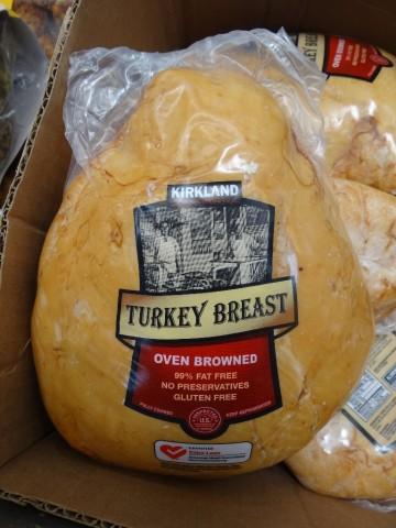 Kirkland Signature Oven Browned Turkey Breast