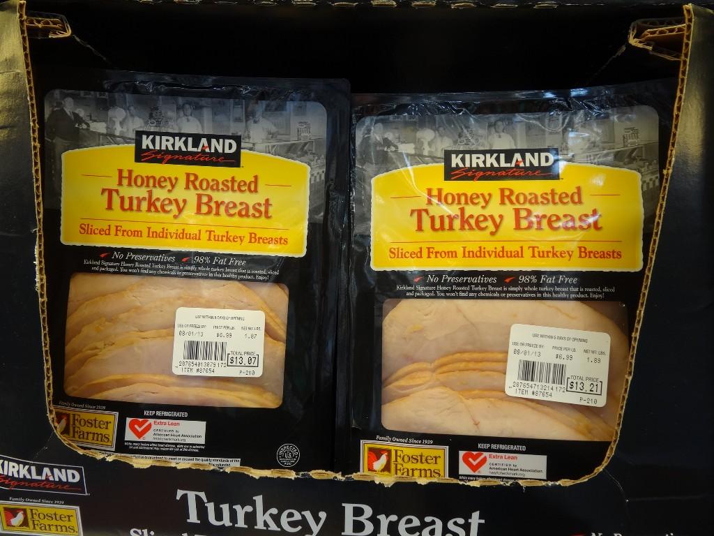 Kirkland Signature Sliced Honey Roasted Turkey Breast Costco