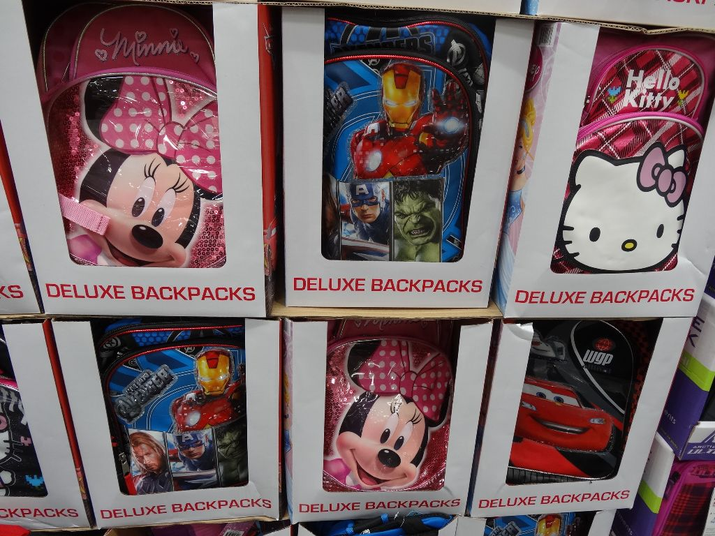 Licensed Character Backpacks Costco