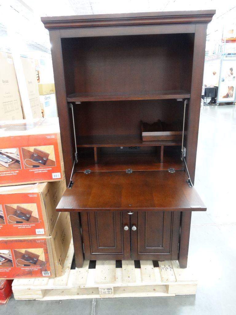 Office Star Products Ravenna Hideaway Desk Costco