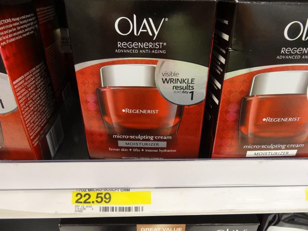 Olay Regenerist Micro-Sculpting Cream Target