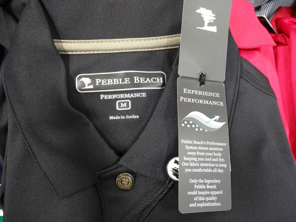 Pebble Beach Performance Polo Costco