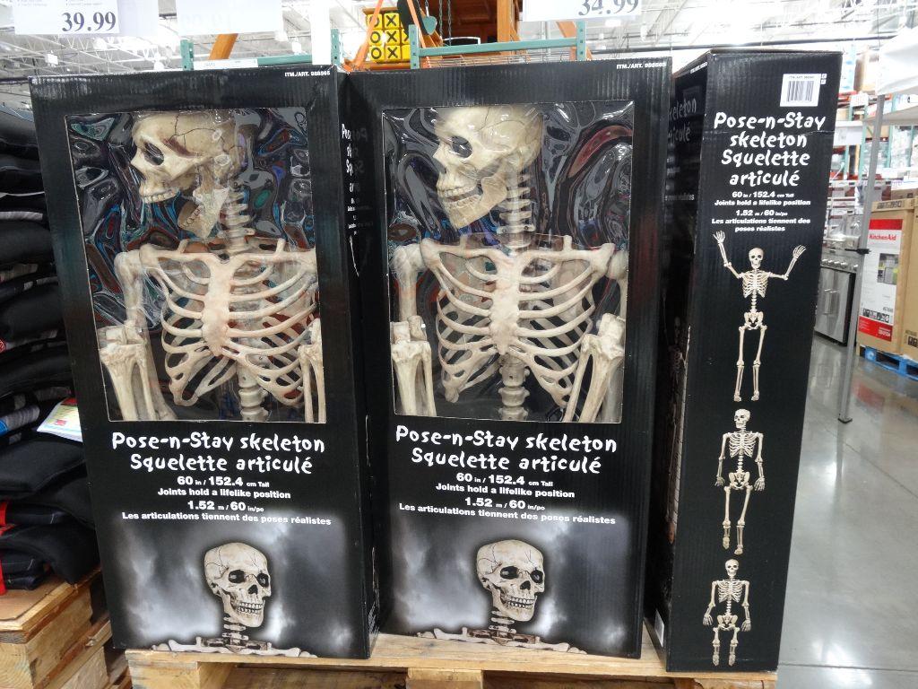 Pose-N-Stay Skeleton Costco