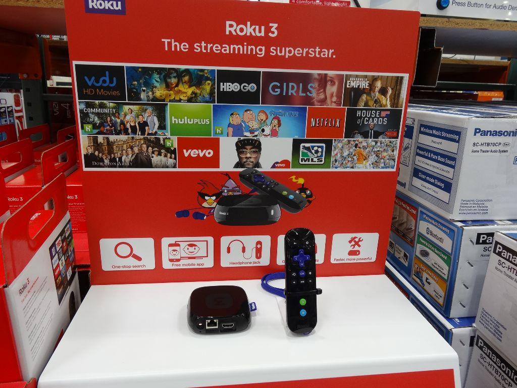 Roku 3 Streaming Player Costco