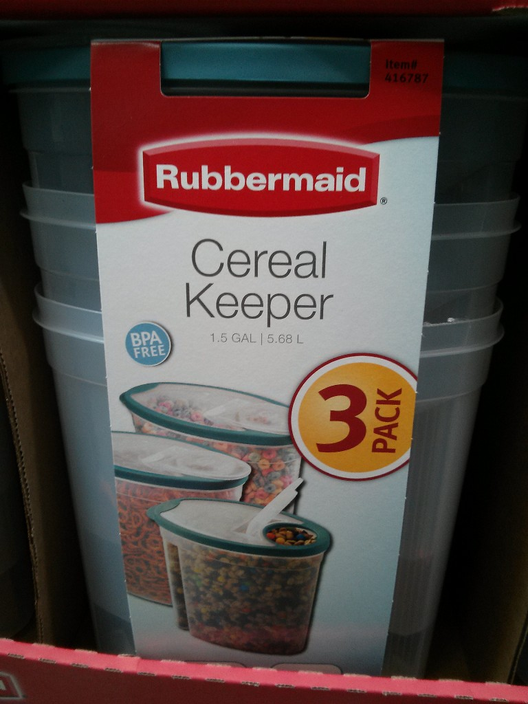 Rubbermaid Cereal Keeper Costco