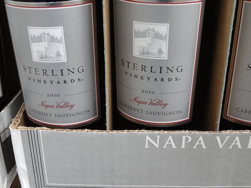 Sterling Vineyards 2010 Cabernet Sauvignon Costco