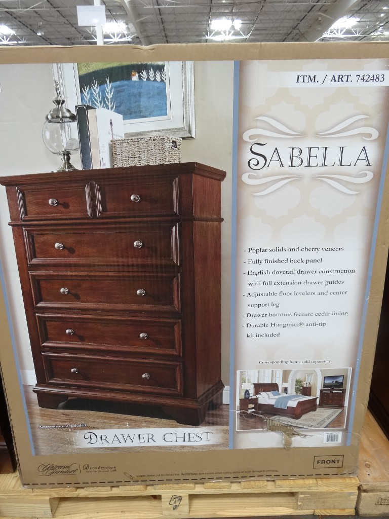 costco chest of drawers universal furniture sabella drawer chest 15021