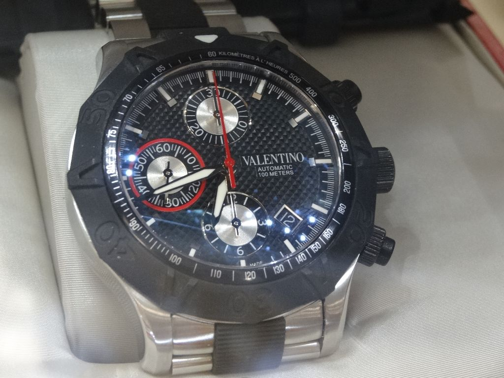 Valentino Homme Rubber and Steel Costco