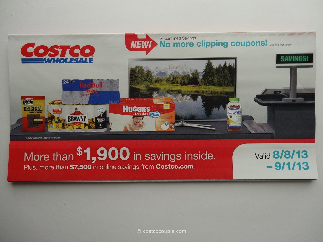 Costco August 2013 Coupon Book 1
