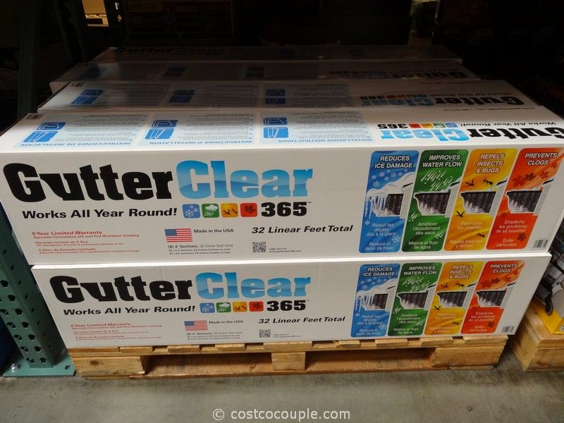 Gutter Clear Gutter Protection Costco