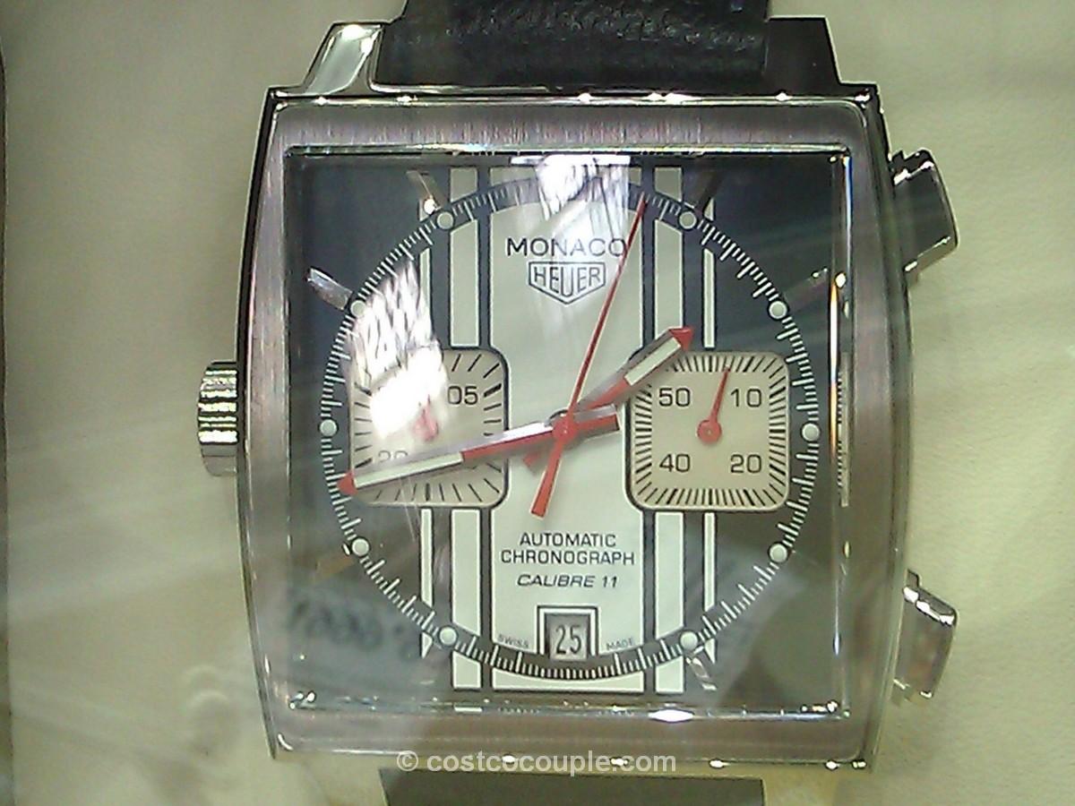 TAG Heuer Monaco Men's Automatic Chronograph Watch Costco