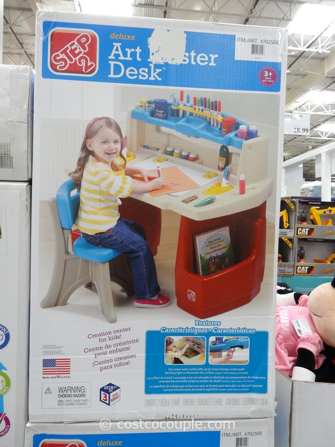 Deluxe Art Master Desk Costco Bayside Furnishings Metrex