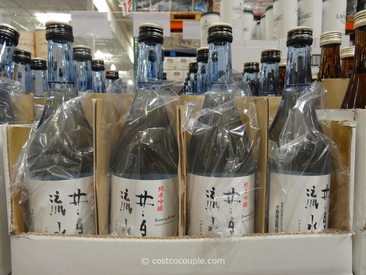 Heiwa Shuzou Running Springs Junmai Ginjo Sake Costco 1