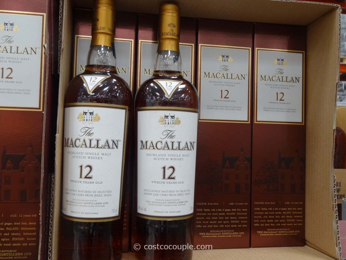 Macallan 12 Year Single Malt Scotch Costco 1