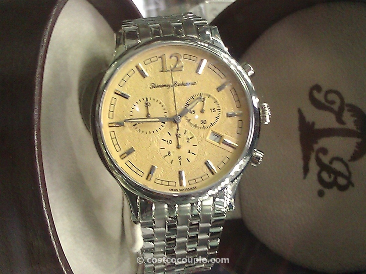 Tommy Bahama Mens Chronograph Stainless Steel Watch Costco 1