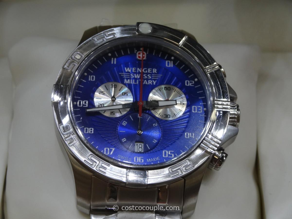 Wenger Swiss Regiment Sport Chronograph Watch Costco 3