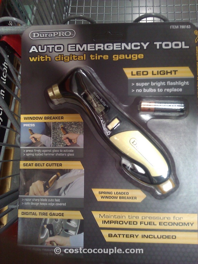 Dura Pro Auto Emergency Tool Dual Pack Costco 1