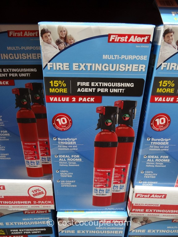 First Alert Fire Extinguisher 2-Pack Costco 2
