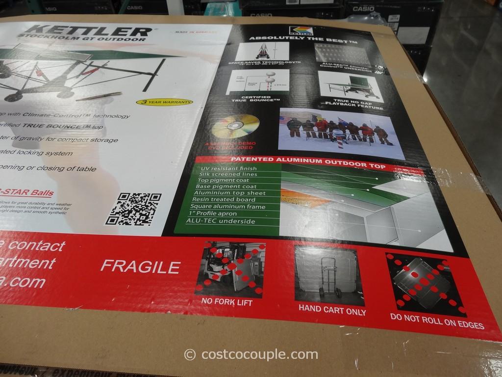 Kettler Table Tennis Set Costco 2