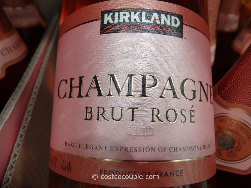 Kirkland Signature Brut Rose Champagne Costco 4