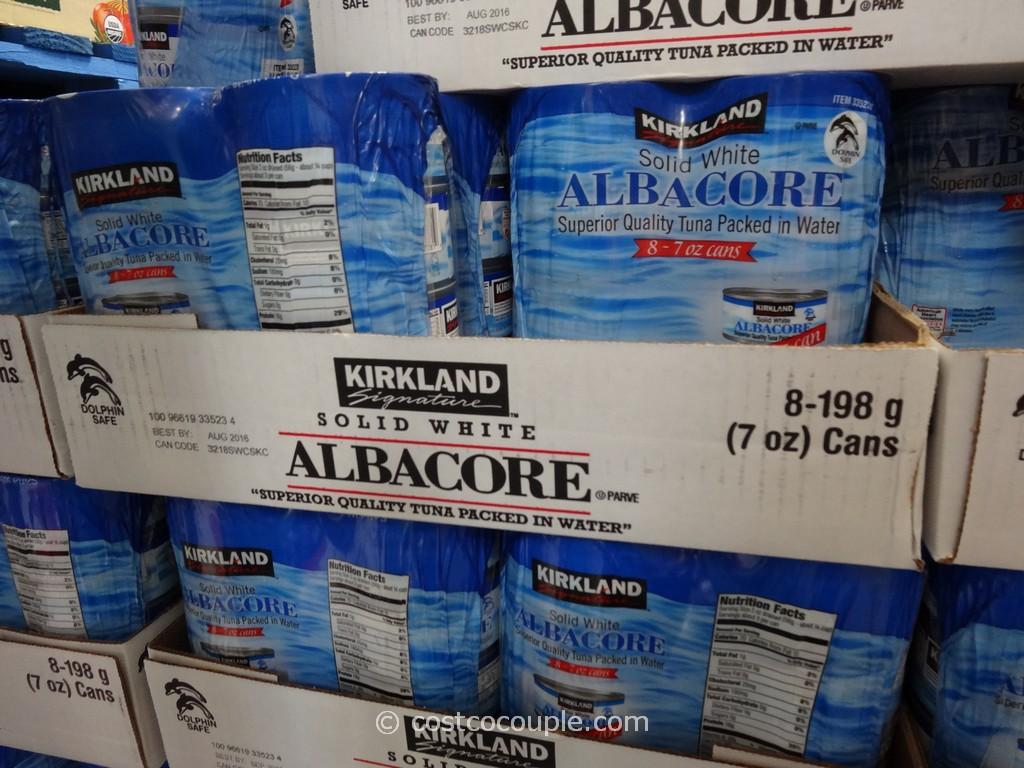 Kirkland Signature Solid White Albacore Tuna Costco 2