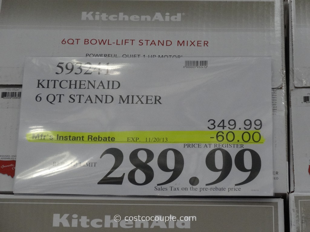 Kitchenaid Artisan 5 Quart Stand Mixers Costco | Tyres2c on 6 qt kettle, kitchenaid pro 500 mixer, kitchenaid professional mixer, 6 qt crockpot, 6 qt ice cream maker,