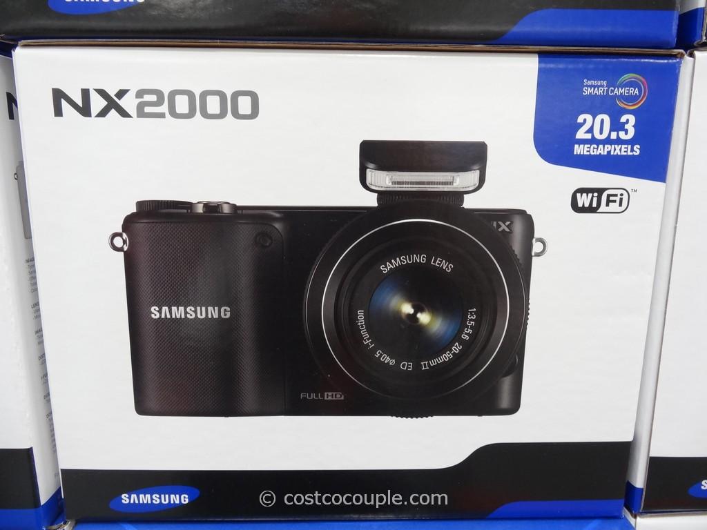 Samsung Smart Camera NX2000 Costco 2