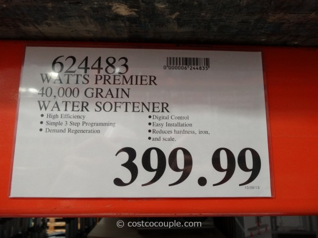 Watts Premier Water Softener Costco 3