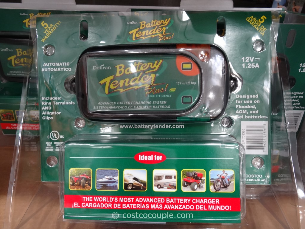 Battery Tender Automatic Battery Charger Costco 5